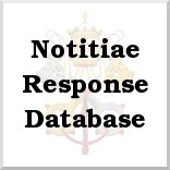Notitiae Response Database