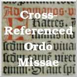 The Cross-Referenced Ordo Missae